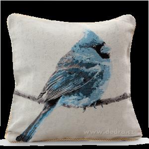 GOBELINO potah na polštář blue bird