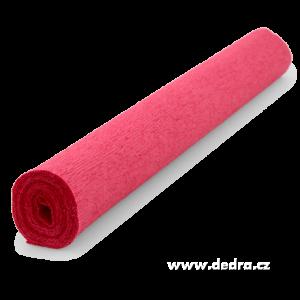 Krepový papír červený