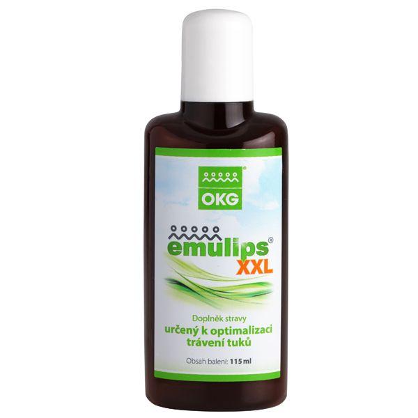 Emulips - doplněk stravy pro optimální trávení tuků 115 ml OKG