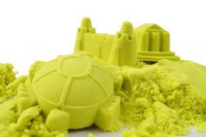 PUFI Kouzelný písek zeleno-žlutý