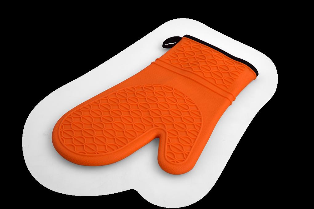 SILICHŇAPKA silikonová chňapka oranžová