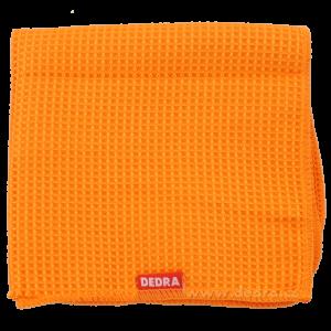 XL ultrasavá utěrka z vaflov.mikrovlákna oranžová