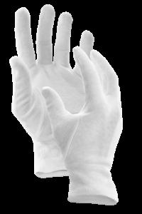 1 pár bavlněných rukavic