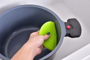 SILISASANKA na mytí silikonová houbička oboustranná