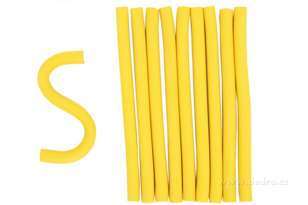 Ohebné natáčky na vlasy - papiloty pr.:10 mm,d.:155 mm