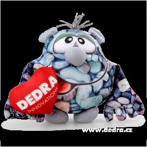 KAMENOŽROUT maskot firmy DEDRA