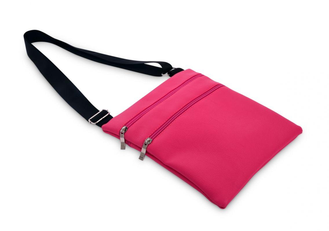 CROSSBAG ZIPPER kabelka přes rameno fuchsiová