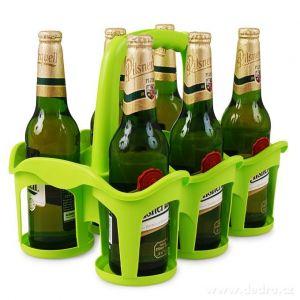 Vodneslahváč držák na 6 ks nápojů zelený