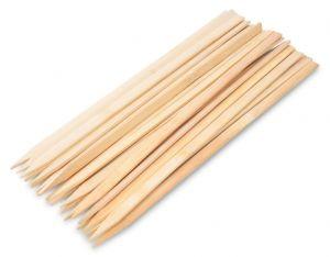 25 ks BAMBOO grilovací hroty z vysokotlakého bambusu